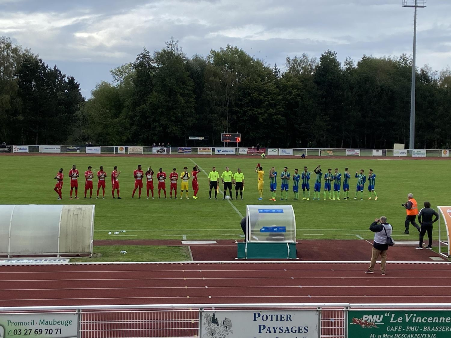 Premier match de la saison en National 3